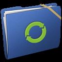 Blue Elastic iDisk