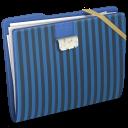 Blue Elastic Wallpaper