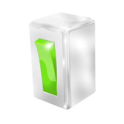 Green Switch Icon Free Search Download As Png Ico And Icns Iconseeker Com