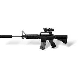Full Size of M4A1 Carbine with scope
