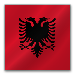 Full Size of Albania flag
