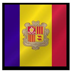 Full Size of Andorra flag