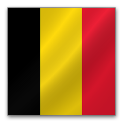 Full Size of Belgium flag