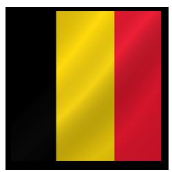 Full Size of Belgium flag