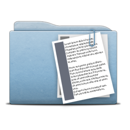Folder Blue Documents Icon Free Search Download As Png Ico And Icns Iconseeker Com