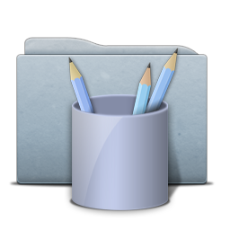 Folder Graphite Work Icon Free Search Download As Png Ico And Icns Iconseeker Com