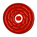 Disc red cane