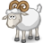 Full Size of male sheep