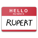 Hello My Name Is Rupert