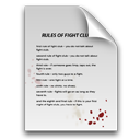 Full Size of Rules of Fight Club