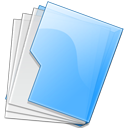 Folder Blue