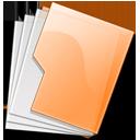 Folder Orange
