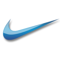 Full Size of Nike blue logo