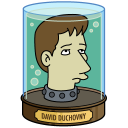 Full Size of David Duchovny's Head