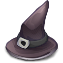 Witch Hat, 'twas Supposed To Be In The Halloween Set of Yore