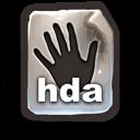 Poser Hand File   .HDA