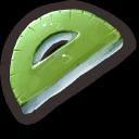 Green Protractor