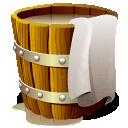 Wooden Bucket Full