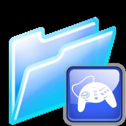 Full Size of game folder