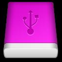 Pink USB