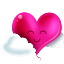 Full Size of Heart and clouds