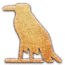 a, glottal stop, Vulture Embossed