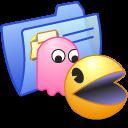 Folder Blue Games