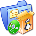 Folder Blue Software Linux