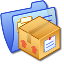 Folder Blue Stuff