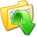 Folder Yellow Downloads