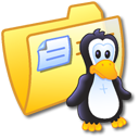 Folder Yellow Linux