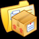 Folder Yellow Stuff