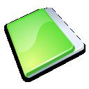 Folder close green
