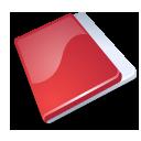 Folder close red