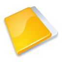 Folder close yellow