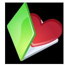 Folder favorits green