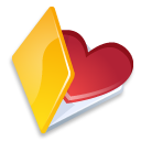 Folder favorits yellow