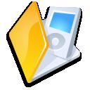 Folder ipod yellow