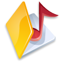 Full Size of Folder music yellow