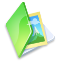 Folder picture green