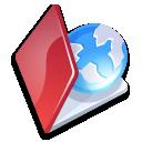 Folder web red