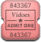 MovieTicketAlt Rounded
