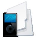 Folder iPod black