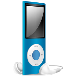 Full Size of iPod Nano blue off