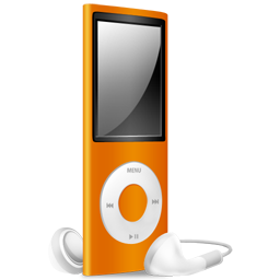 Full Size of iPod Nano orange off