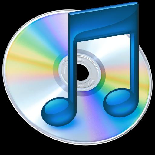 Full Size of iTunes blauw 2