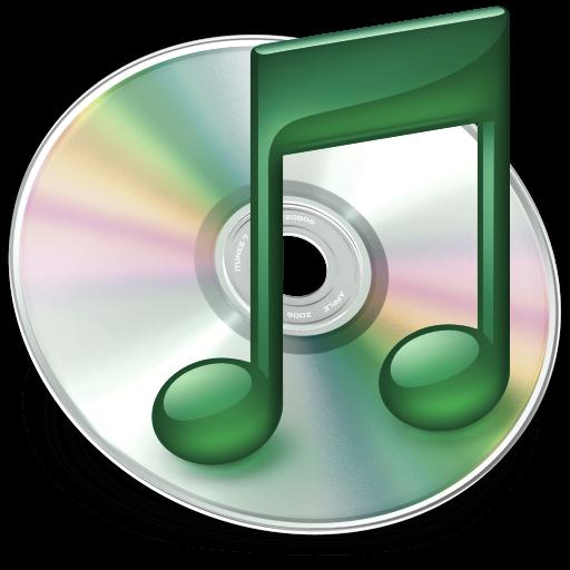 Full Size of iTunes mint groen