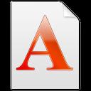 Font A