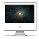 iMac G5 Time Machine PNG