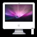 iMac iSight Aurora PNG